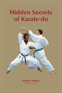 Hidden Secrets of Karate Do Book
