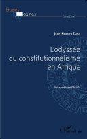 L'odyssée du constitutionnalisme en Afrique Pdf/ePub eBook