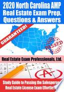 2020 North Carolina AMP Real Estate Exam Prep Questions   Answers Book