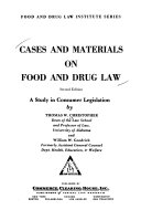 Cases And Materials On Food And Drug Law