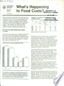 What S Happening To Food Costs