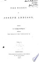 The Works Of Joseph Addison The Spectator No 1 314
