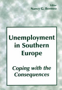 Unemployment in Southern Europe: Coping with the Consequences Pdf/ePub eBook