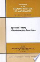 Spectral Theory of Automorphic Functions