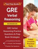 GRE Verbal Reasoning Workbook