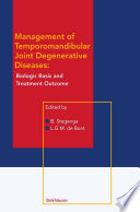Management of Temporomandibular Joint Degenerative Diseases