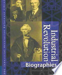 Industrial Revolution  : Biographies