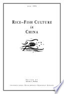 Rice fish Culture in China
