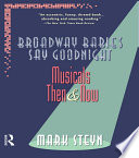 Broadway Babies Say Goodnight Book PDF