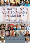 Extraordinary Centenarians in America Pdf/ePub eBook