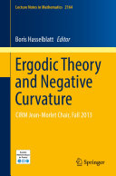 Ergodic Theory and Negative Curvature