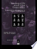 Research And The Teacher