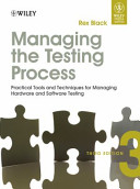 Managing The Testing Process, 3Rd Ed
