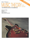 Music Theory for Guitar