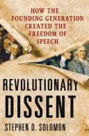 Revolutionary Dissent Pdf/ePub eBook