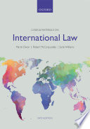 Cases and Materials on International Law
