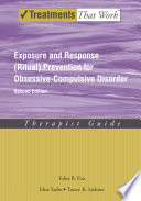 Exposure and Response  Ritual  Prevention for Obsessive Compulsive Disorder Book