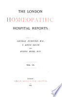 London Homoeopathic Hospital Reports