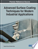 Advanced Surface Coating Techniques For Modern Industrial Applications Book PDF