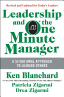Leadership and the One Minute Manager Updated Ed