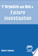 How To Organize And Run A Failure Investigation Book PDF