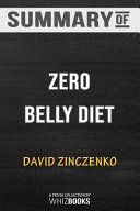 Summary of Zero Belly Diet