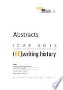 ICAR 2012   ABSTRACTS Book PDF