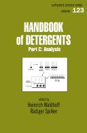 Handbook Of Detergents, Part C