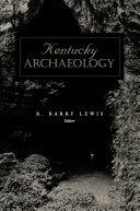 Pdf Kentucky Archaeology Telecharger