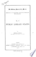Public Library Staffs