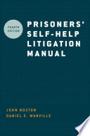 """Prisoners' Self-help Litigation Manual"" by John Boston, Daniel E. Manville"