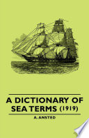 A Dictionary Of Sea Terms 1919