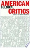 American Cultural Critics Book