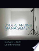 """Understanding Management"" by Richard Daft, Dorothy Marcic"