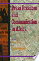 Download Press Freedom and Communication in Africa Book