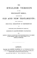 The polyglott Bible containing the old and new testaments: with a ... selection of references ... (hebraice, graece, anglice) ebook