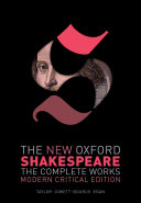The New Oxford Shakespeare