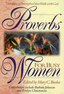 Proverbs for Busy Women