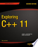 Cover of Exploring C++ 11