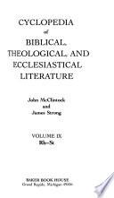 Cyclopedia of Biblical, Theological, and Ecclesiastical Literature