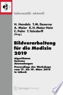 Bildverarbeitung f  r die Medizin 2019