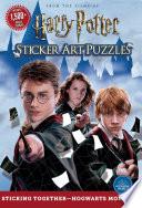 Harry Potter Sticker Art Puzzles Book