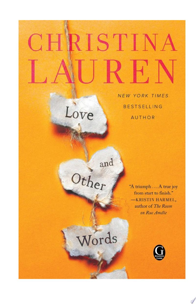Love and Other Words image