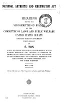 National Arthritis and Rheumatism Act