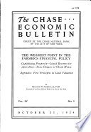 The Chase Economic Bulletin