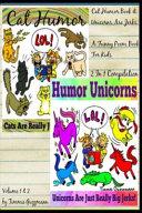 Cat Humor Book & Unicorns Are Jerks
