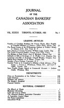 Journal of the Canadian Bankers  Association