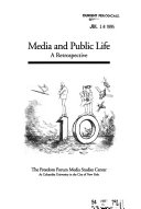 Media Studies Journal