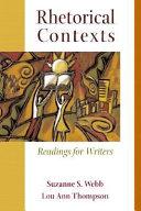 Rhetorical Contexts Book