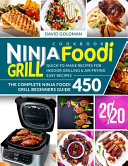Ninja Foodi Grill Cookbook 2020